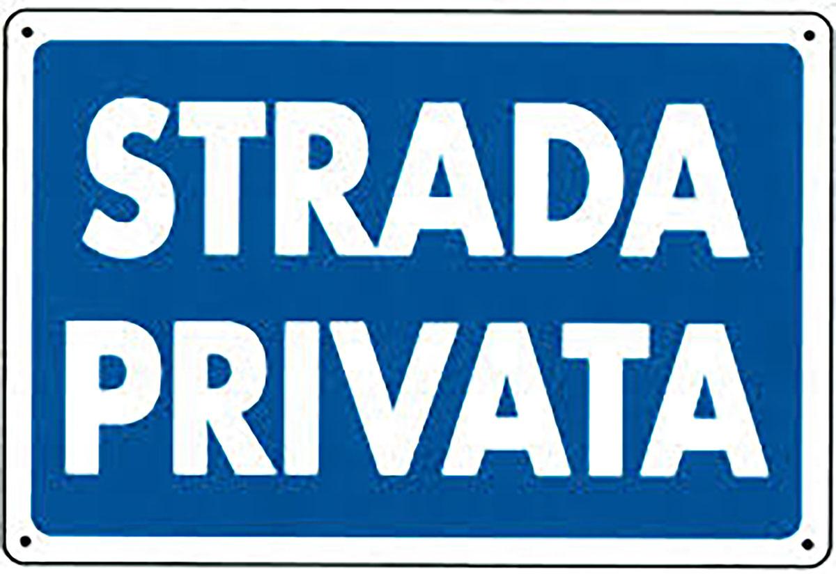 sinistro su strada privata