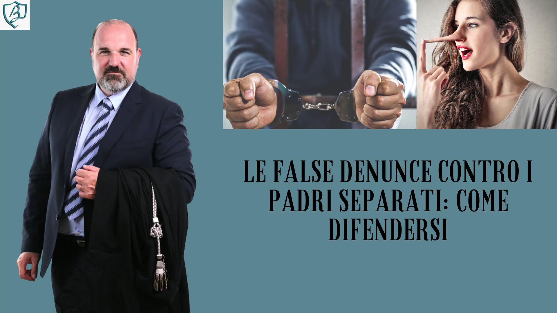 False denunce contro i padri separati